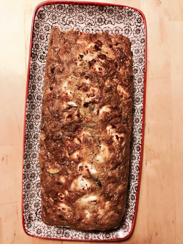 Cake végétarien – Olives ettofu