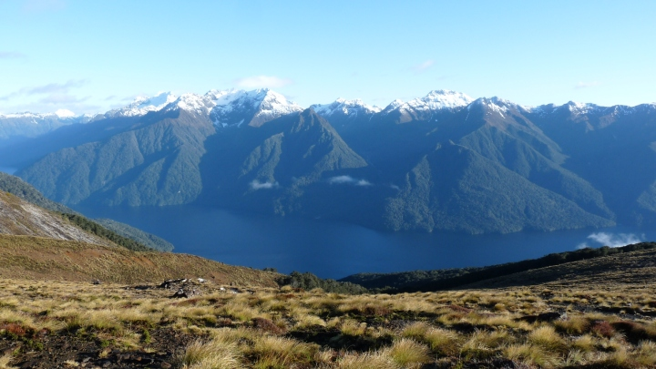 Randonnée en Nouvelle-Zélande : KeplerTrack